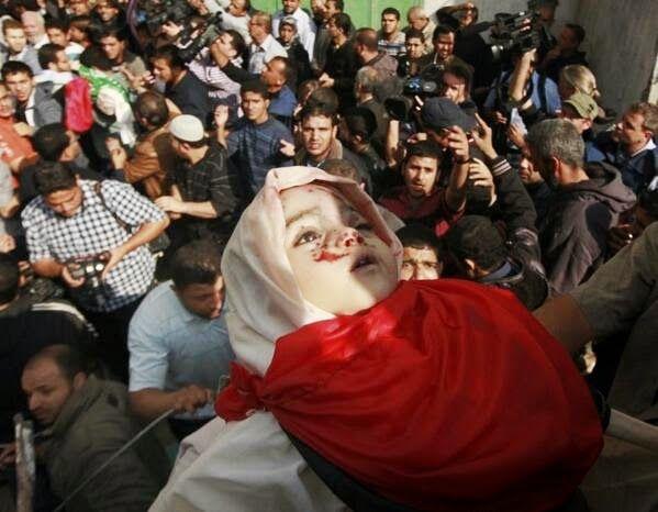 IMMAGINI DI MORTE #Palestine