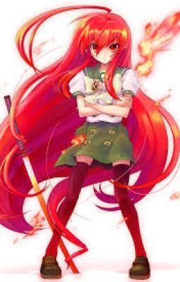 The Crimson Flame Of Konoha Prologue Shakugan No Shana Anime Animated Characters