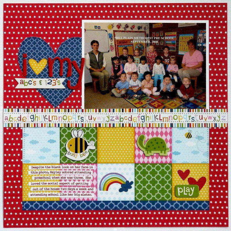Bella Blvd Tiny Tots Preschool Layout by Mendi Yoshikawa