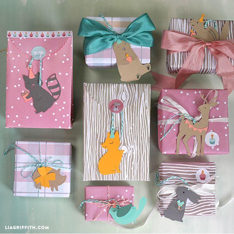 Woodland Gift Wrap | Gift Wrapping | Pinterest | Geschenke ...