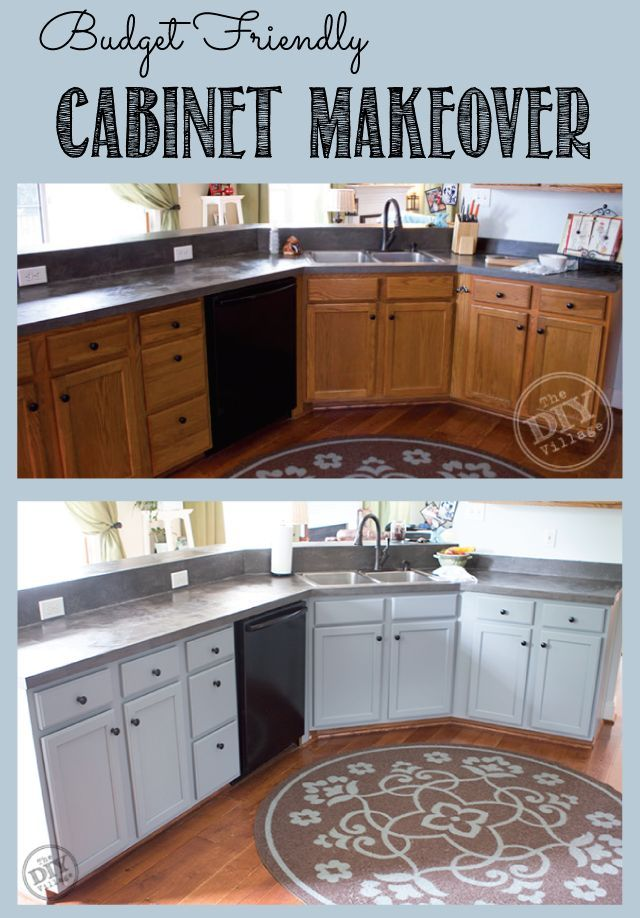 Best Budget Friendly Cabinet Makeover Kitchen Redo Kitchen 400 x 300