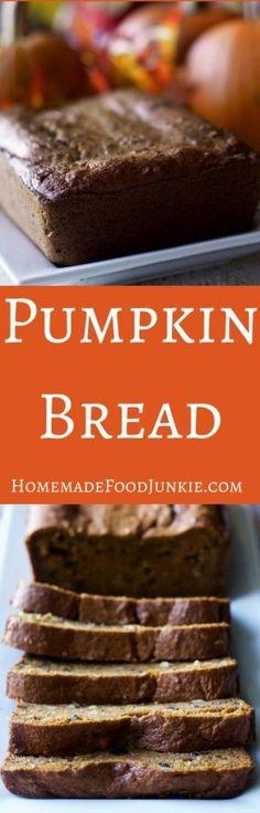 cool Pumpkin Bread with d