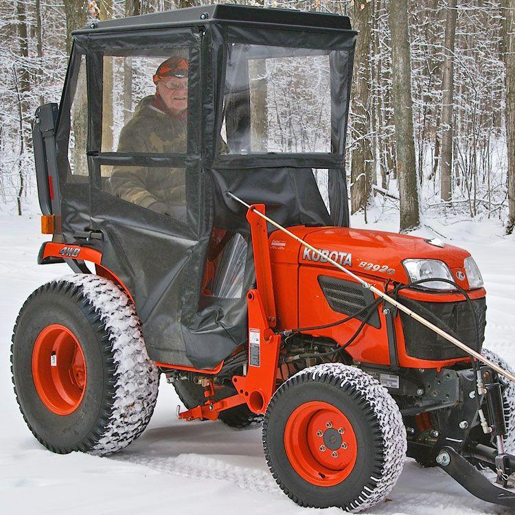 Hardtop Cab For Kubota B2320 B2620 B2920 B2301 B2601 Sub Compact Tractors Compact Tractor Attachments Sub Compact Tractors Tractors