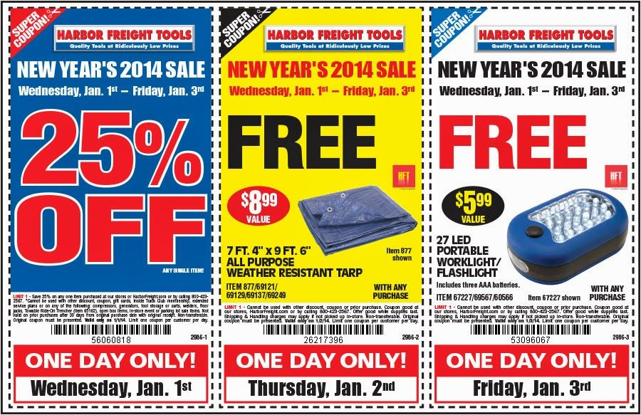 Free Printable Coupons Harbor Freight Coupons Printable Coupons