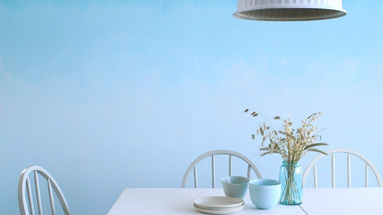 How To Paint An Ombre Wall Martha Stewart Youtube Ombre Wall