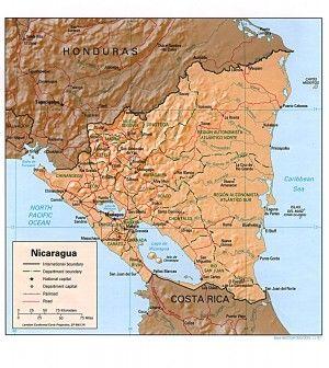 Nicaragua rel 97 Nicaragua Pinterest