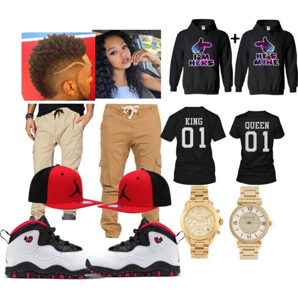 Couples outfit by nadjahnelson on Polyvore featuring polyvore fashion style Michael Kors NIKE