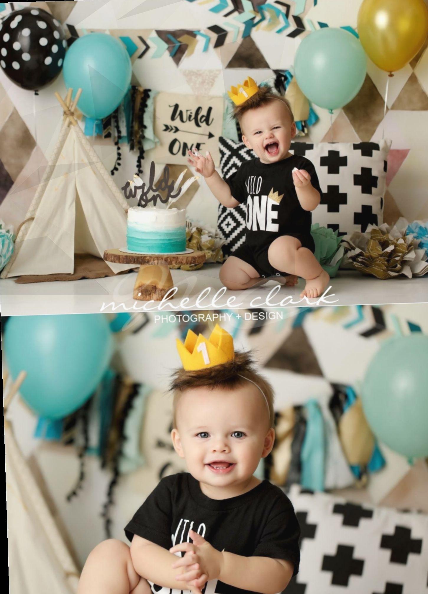 Birthday ideas photoshoot party gift happy baby boy