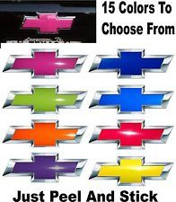 Chevy bowtie overlay - you could have purple, pink, red, orange