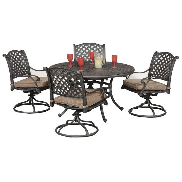 moab world source 5 piece patio dining set patio sets