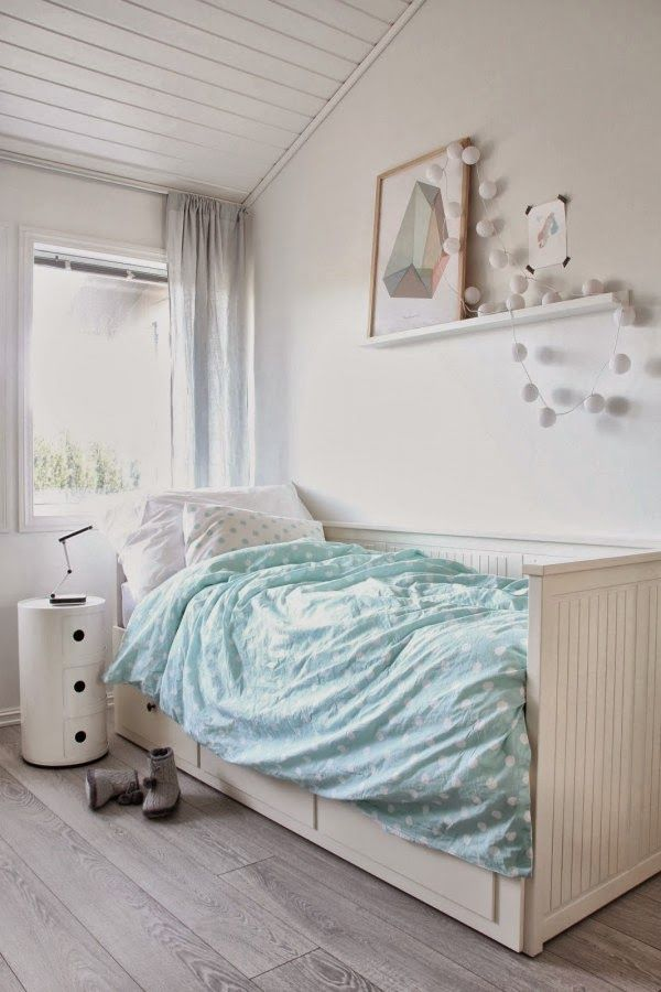Ideas deco habitaciones infantiles de estilo n rdico para ni as dormitorios adolescentes y - Deco habitaciones infantiles ...