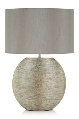 Buy Large Silver Ceramic Table Lamp From The Next Uk Online Shop Large Table Lamps Table Lamp Curved Arm Floor Lamp