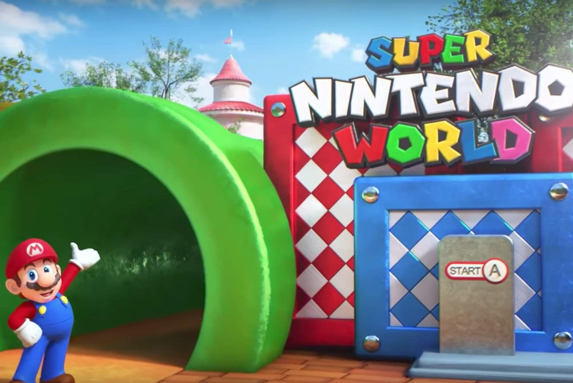Super Nintendo World Looks Like A Nostalgic Gamer S Paradise