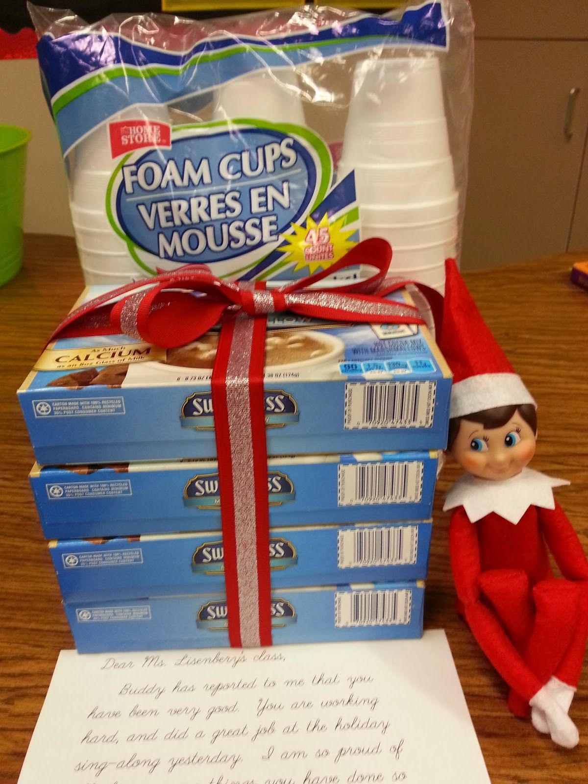 redheaded crafter Elf on the Shelf in my Classroom and other
