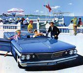 Plan59 :: Classic Car Art :: Vintage Ads :: 1960 Pontiac Bonneville convertible …