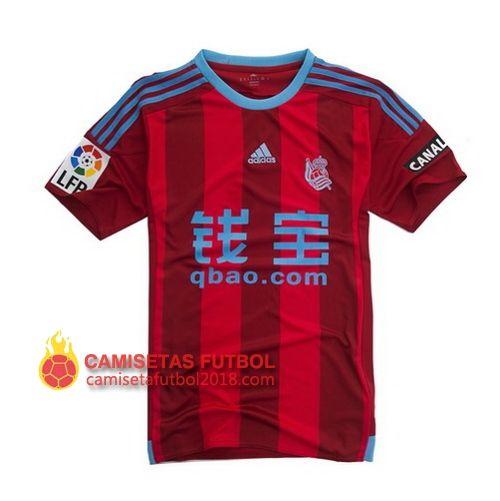 Segunda camiseta Tailandia del Real Sociedad 2015 2016 Camiseta Real  Sociedad 2018   Equipacion Real Sociedad