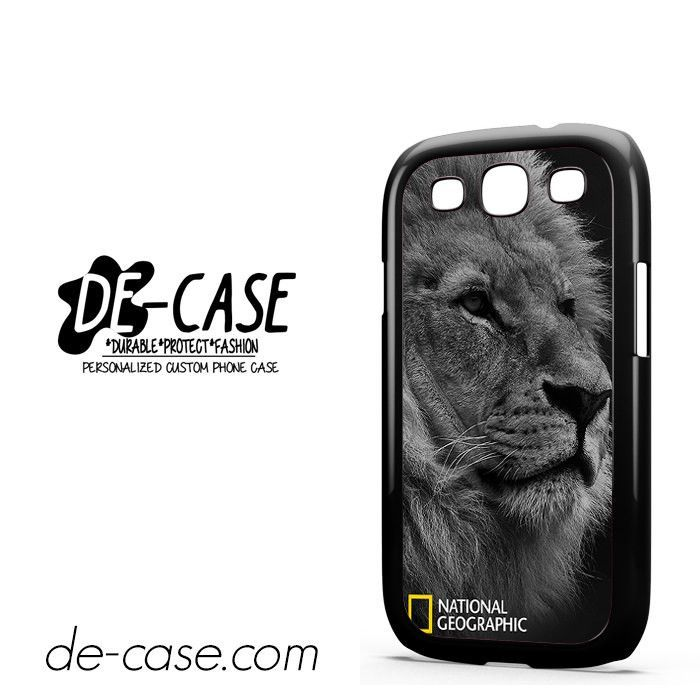 National Geographic Lion DEAL-7587 Samsung Phonecase Cover For Samsung Galaxy S3 / S3 Mini