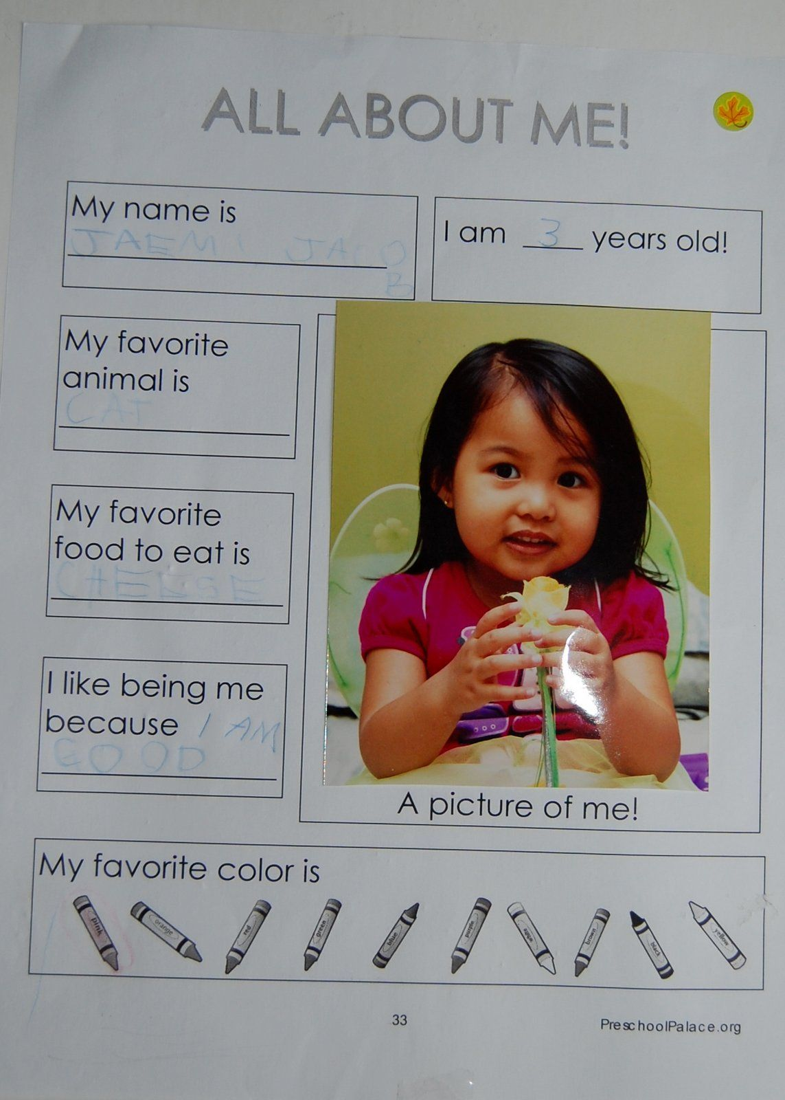 All About ME Start Your Preschooler S Home School Curriculum With