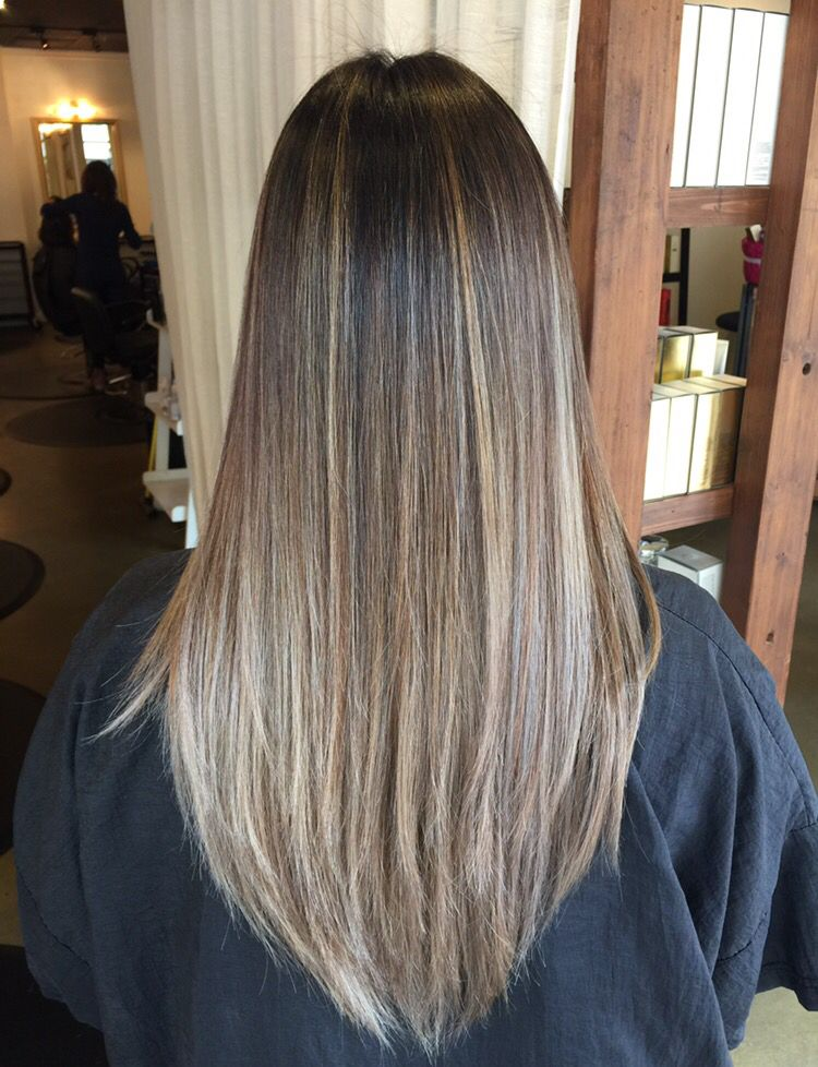 My Balayage With Straight Hair Seriously Obsessed Still Cant