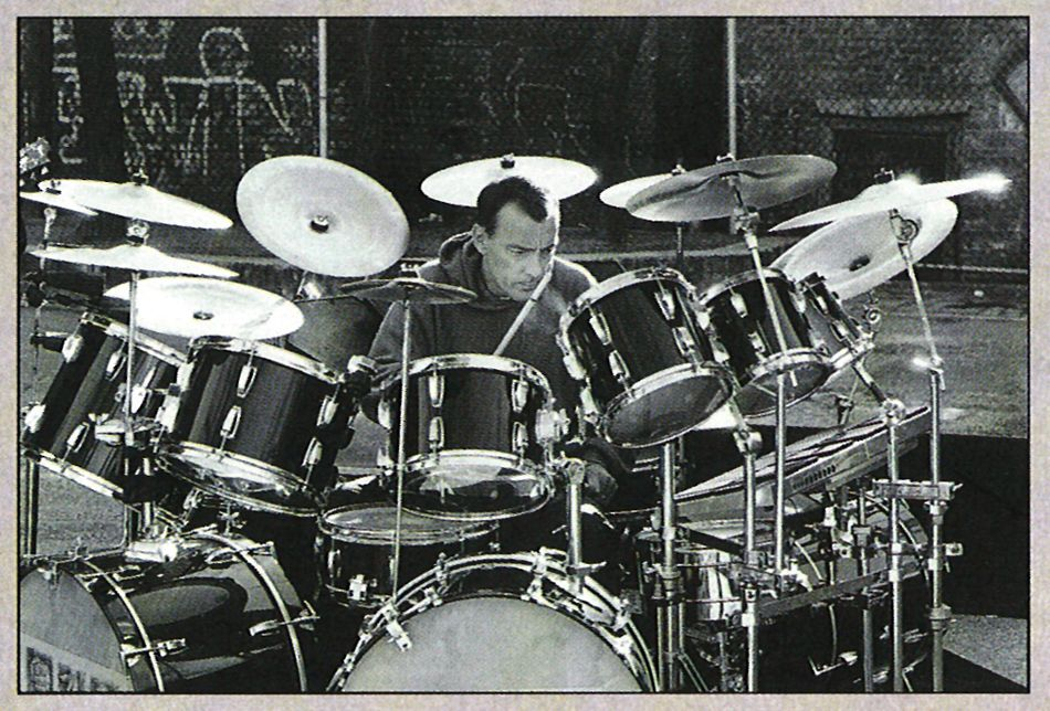 neil peart presto drums drums ludwig