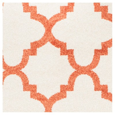 amherst rectangle 8 x 10 outdoor patio rug beige orange