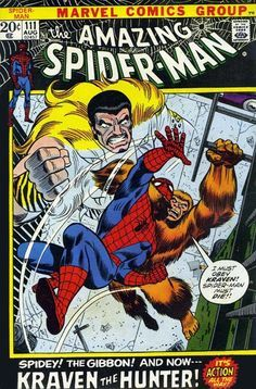 Amazing Spider-Man # 111 by John Romita & Frank Giacoia _____ TROIS _____
