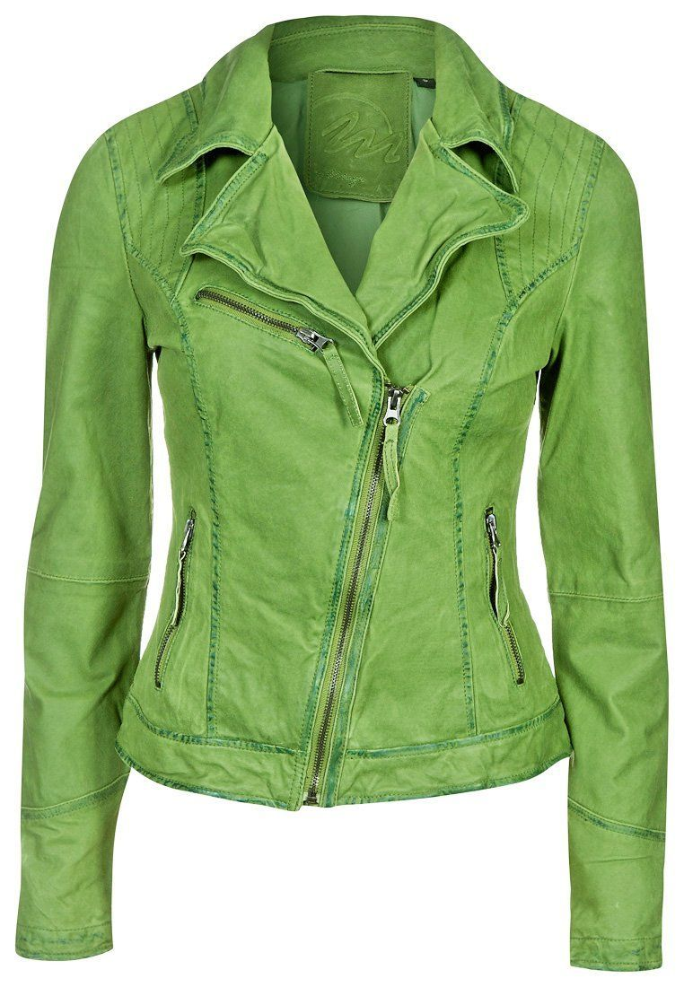 Lederjacke Wildleder GrÜne Lederjacke Frauen Lederjacke Pinterest Green Leather