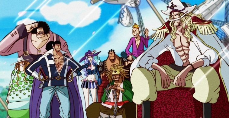 Prime Whitebeard S Crew Weaker Than Roger Pirates In 2020 One Piece Chapter One Piece Ace One Piece