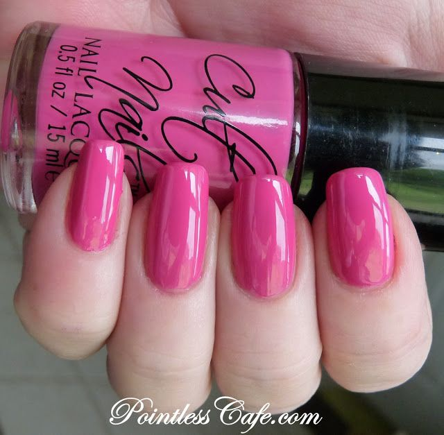 The Pink Thought Bubble by BabyJap: Swatchfest II : NYX