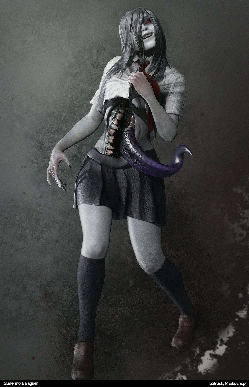 Onryo Japanese Ghost Girl Japanese Myth Comics Girls Japanese Urban Legends