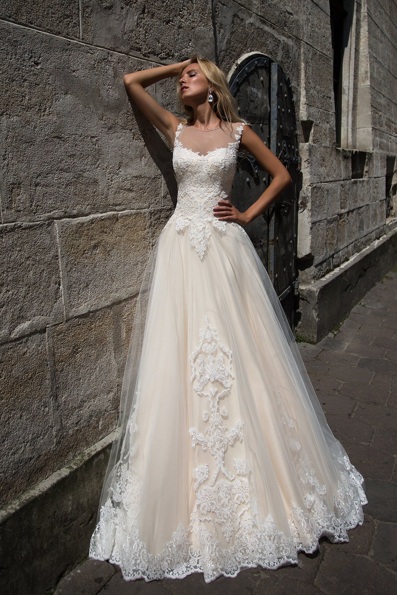 Veronica Wedding Dress By Oksana Mukha Price 1200 00 Only In Charme Gaby Bridal Go Affordable Wedding Dress Designers Beautiful Wedding Dresses Bridal Dresses