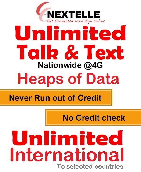 ACTIVATE And USE UNLIMITED For 30 Days Nextelle Wireless