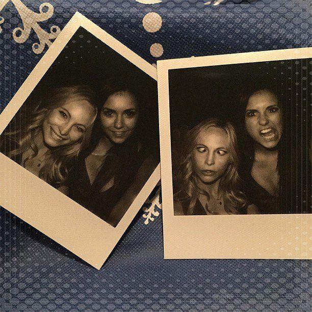 Nina Dobrev's Final Vampire Diaries Scenes Instagrams   POPSUGAR Entertainment Photo 21