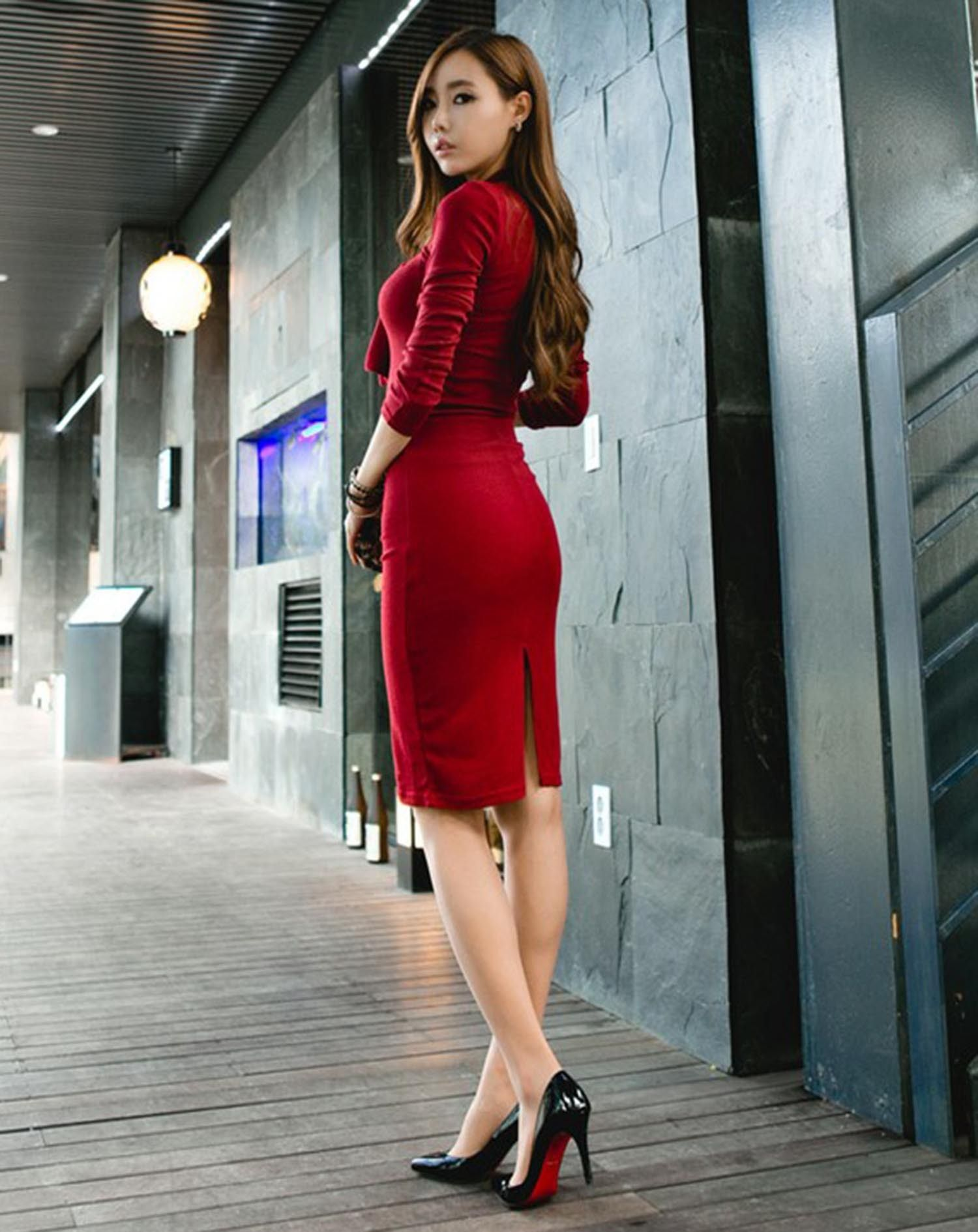 10  images about Little Red Dress on Pinterest - Classy short ...