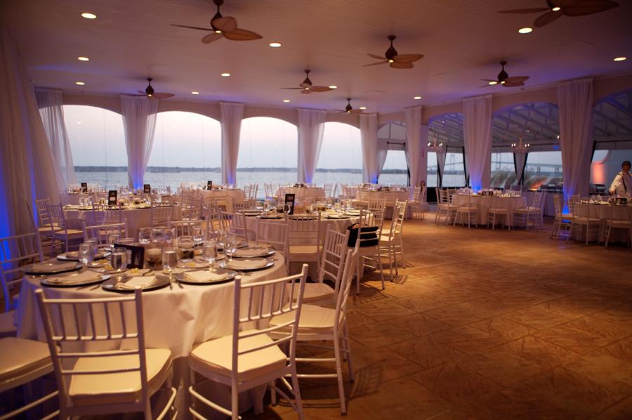 Newport Outdoor Oceanfront Wedding Receptions Boutique Venue Oceanfront Wedding Belle Mer Island House Island House