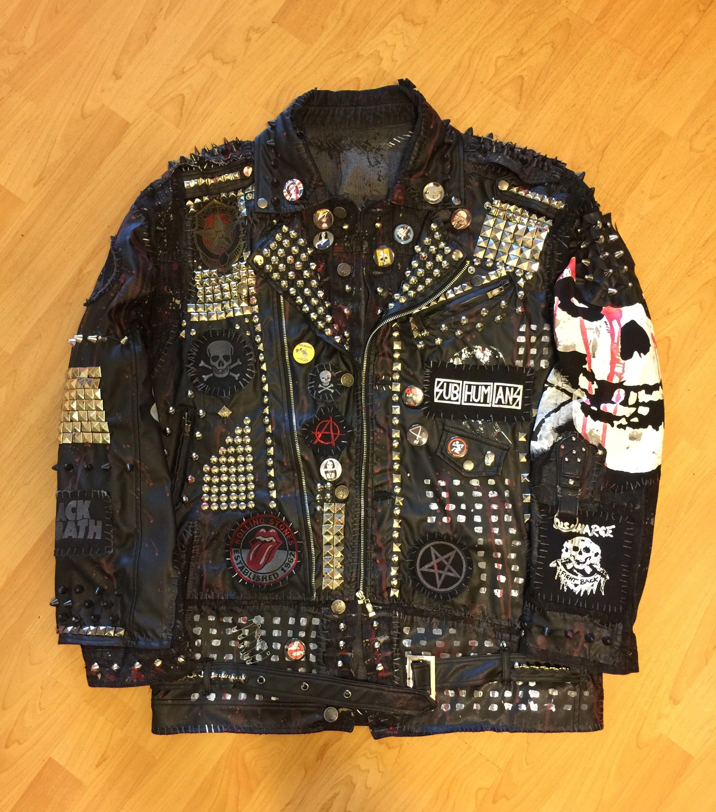 Roadway studded jacket from ChadCherryClothing! Studded ...