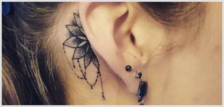 25 Pretty Behind The Ear Tattoos For Women Behindeartattoo Eartattoo Tattooforwomen Tattoowomen Womeneart Behind Ear Tattoos Ear Tattoo Tattoos For Women