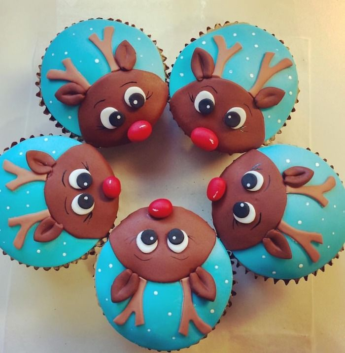 ▷ 1001 + Ideas for Tasty and Beautiful Christmas Cupcakes #cupcakenoel