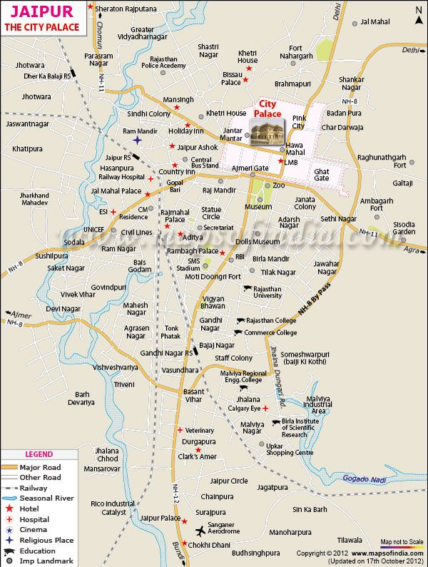 nice Jaipur Map Travelquaz Pinterest Jaipur Palace and India