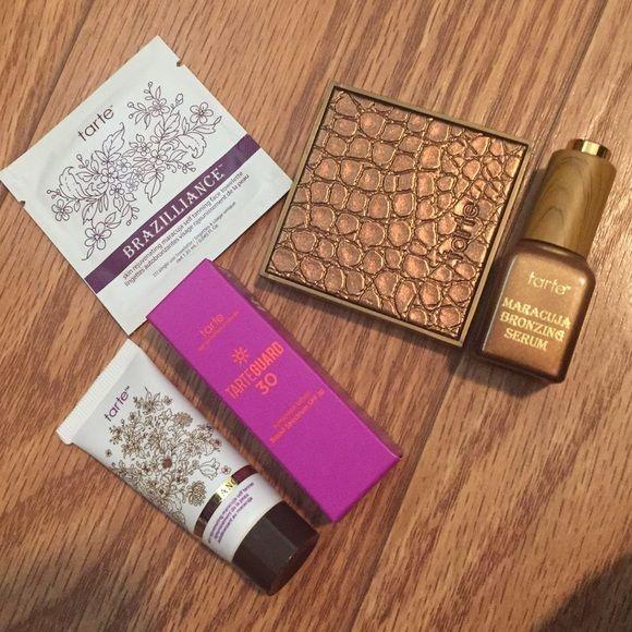 New! Tarte sample bronzer pack!  Tarte bronzing bundle ☀️☀️☀️ tarte Makeup Bronzer