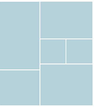 Square Photo Collage Templates | scrapbooking/blogging/cards ...