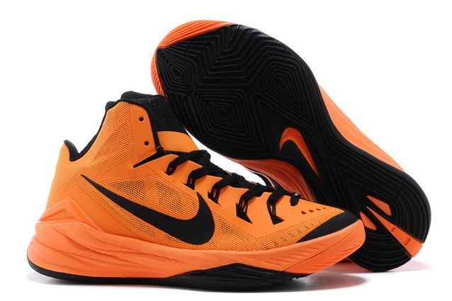 65d08769aa7a Mens Nike Hyperdunk 2014 Bright Mango Black