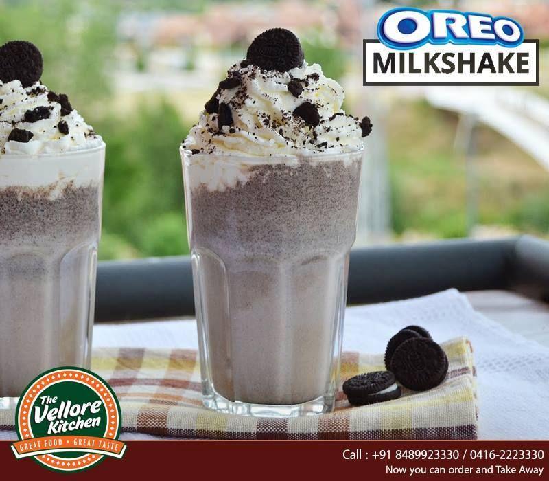 Enjoy your Saturday with amazing Oreo milkshake at The Vellore