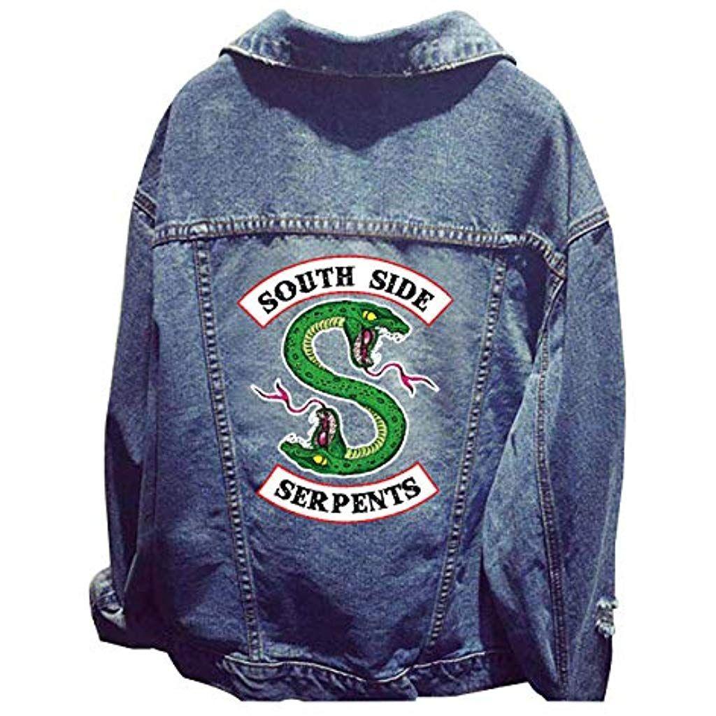 premium selection 7a154 44b34 Riverdale Southside Serpents Jacke Damen Teenager Mädchen ...