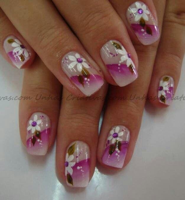 Uñas decoradas   yago   Pinterest   Uña decoradas, Diseños de uñas y ...