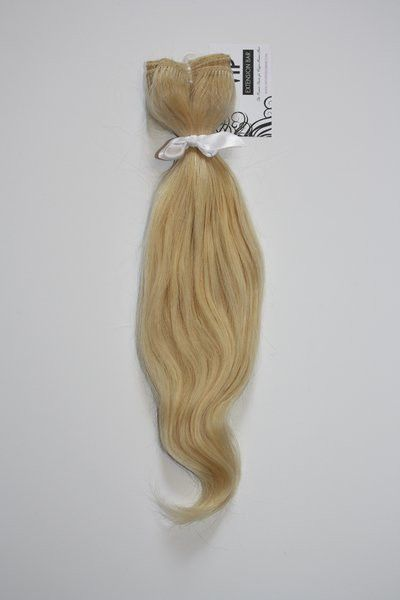 "Shop our VIP line of 6A grade Virgin Peruvian Body Wave Blonde #613 human hair extensions, lengths 12""-26"". Save 10% - 15% on preset bundle deals."