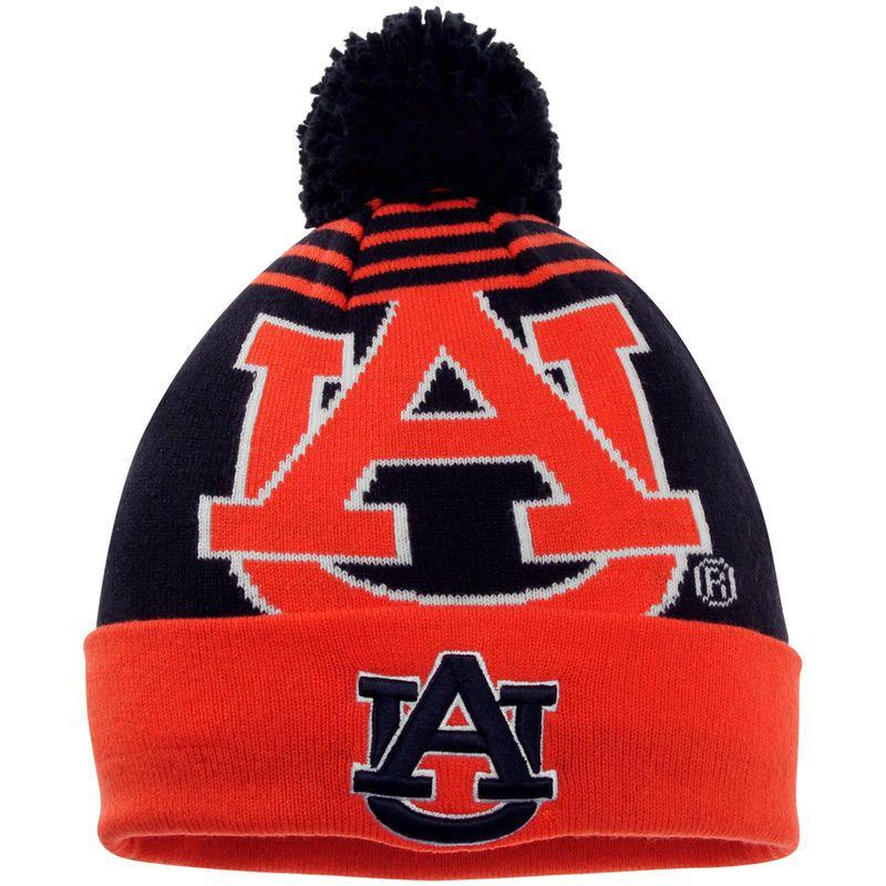 8bd40294530337 ... cheap auburn tigers new era ncaa logo whiz knit hat navy 61d17 31776