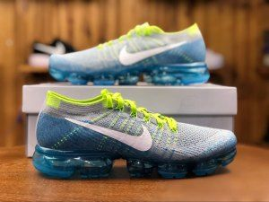 4e26d25ded2 Nike Air VaporMax Sprite Wolf Grey Blue 849558 022 Men s Running Shoes