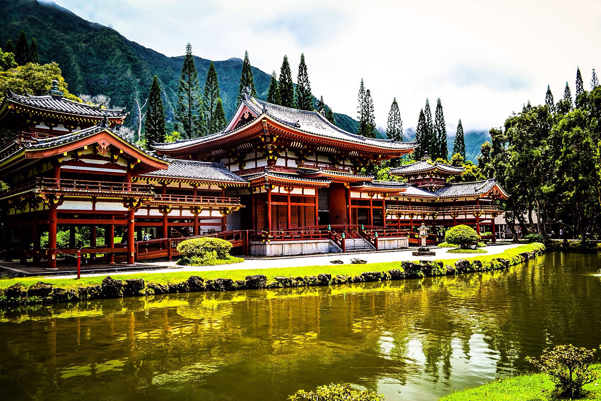 Buddhist temple! Photograph by Emily Byers