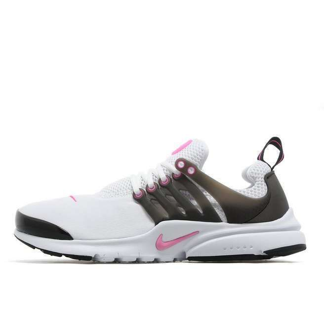 47c033fa52 Nike Air Presto Junior Youth Girls Running Trainers Shoes White/Black